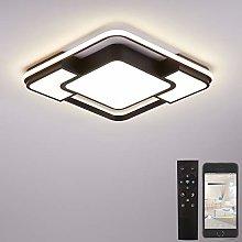 Led Ceiling Light for Bedroom,Remote