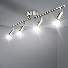 LED Ceiling Light Rotatable,4 Way Ceiling