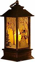 LED Christmas Lantern, Night Light Tea Light