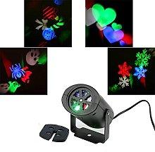LED Christmas Projector Lamp,KINGCOO Rotating
