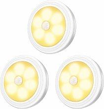 LED Closet / Cabinet Light, 3pcs Nightlight