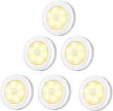 LED Closet / Cabinet Light, 6pcs Nightlight