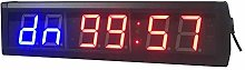 LED Countdown Clock Timing Minutes Seconds