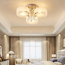 LED Crystal Ceiling Light Chandelier Lamp, 3 Head