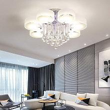 LED Crystal Ceiling Light Chandelier Lamp, 7 Head