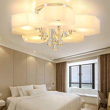 LED Crystal Ceiling Light Hexagon Chandelier Lamp
