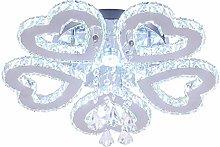 LED Crystal Chandelier Modern Ceiling Light