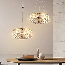 LED Crystal Chandeliers, One Rings Modern Pendant