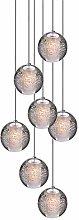 LED Crystal Glass Pendant Lamp,Ø10cm Crystal Ball