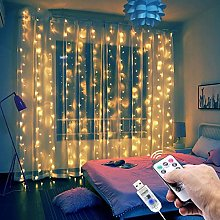 LED Curtain Fairy Lights for Bedroom 8 Modes 3 * 2