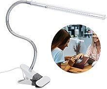 LED Desk Lamp with Clamp,Flexible Reading Light