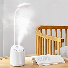 LED Desk Lamp with Humidifier Reading Study
