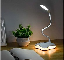 LED Desk Lamp with Small Night Light USB 3-Level