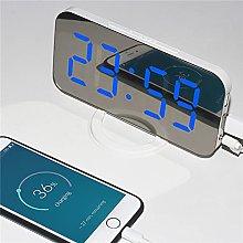 LED Digital Clock,Fashion Mirror Digital Quartz