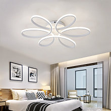 LED Dimmable Ceiling Light Floral Pendant