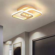 LED Dimmable Ceiling Light, Modern Lamp Square