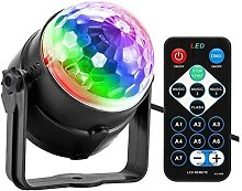 LED Disco Ball, Kids USB Disco Light Party Light