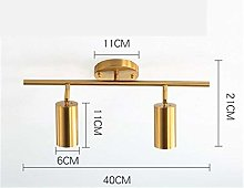LED Downlight Gold Wall Mounted Ceiling Spotlight