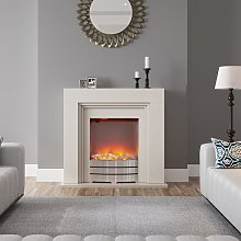 LED Electric Freestanding Fireplace Heater Fire