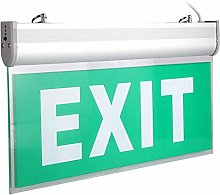 LED Emergency Exit Exit Lighting Sign 12pcs LED