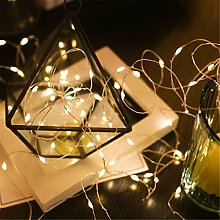 LED Fairy Lights, Copper Wire String Lights for