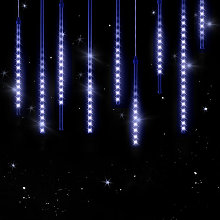 LED Fairy Lights Lighting Curtain Rain Outdoor