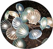 LED Fairy String Lights in Shell Shape, Sea Shell