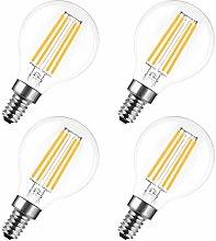LED Filament Bulb, E14 Edison Screw G25 Vintage