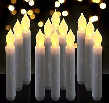 LED Flameless Candles Taper Battery Operated