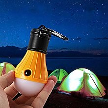 Led Flashlight Lantern Tent Light Bulb Hook for
