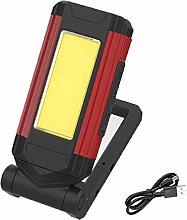 Led Flashlight with Magnetic Base Adopt 360 Degree