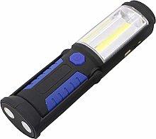 Led Flashlight with Magnetic Base Use Two Lighting