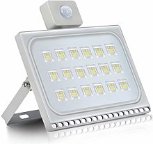 LED Floodlight with Motion Sensor Security