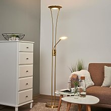 LED Floor Lamp 'Eda' dimmable (modern) in