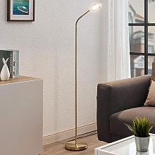 LED Floor Lamp 'Meghan' in Gold made of
