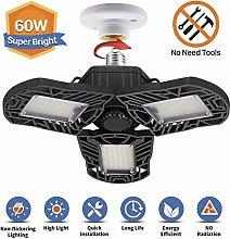 LED Garage Light, 360° Deformable Garage Lighting