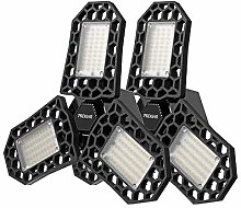 LED Garage Lights, PREKIAR 60W LED Garage Ceiling