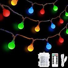 LED Globe String Lights USB or Battery