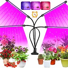 LED Grow Light, 80 LEDs Full Spectrum Plant Grow