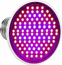 LED Grow Light Bulb, 24W E27 High Power Panel Full