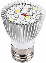 LED Grow Light Bulb, 28W E27 High Power Panel Full