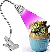Led Grow Light Desk Clip LED Plant Grow Lamp 7W
