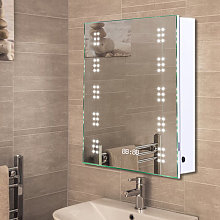 LED Illuminated Bathroom Sensor Mirror Cabinet