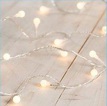 LED Indoor Fairy Lights - Warm White LED - (40