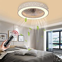 LED Invisible Ceiling Fan Fan Ceiling Light Modern