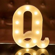 LED Letter Lights Alphabet Light Up Sign for Night