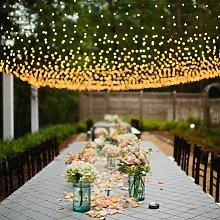 LED light net light curtain light chain warm white