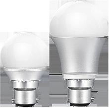 Led lighting bayonet bulb B22 lamp holder 3w