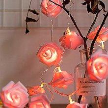 LED Lights, LED Rose Lantern Skewers Fairy Lights