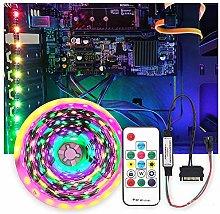led lights Symphony case lights with 5V colorful